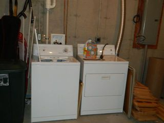 Carrabassett Valley house photo - Washer and dryer room