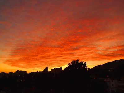 Benalmadena apartment rental - Sunset from the terrace