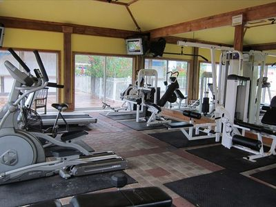 Blue Mountain Beach Club workout facilities