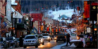Crestview condo photo - Holiday Season on Main Street in Park City