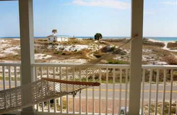 Private Gulf View and Dune from Master bedroom Hammock. (Dead end street)
