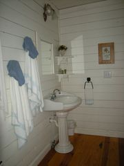 Helen cottage photo - upstairs bath