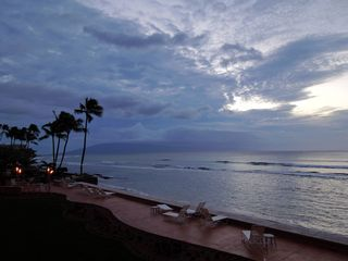 Honokowai condo photo - Watch fabulous sunsets from the lanai of your beachfront condo in West Maui!