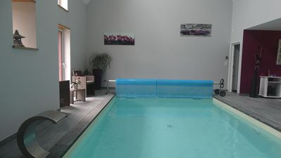 Charming cottage with indoor pool and spa at the Oree Brocéliande