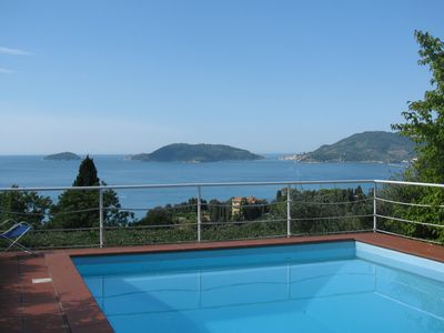 'Gli Ulivi' - Terrific View, inside a Priv Med'park, Pool, Tennis and Parking