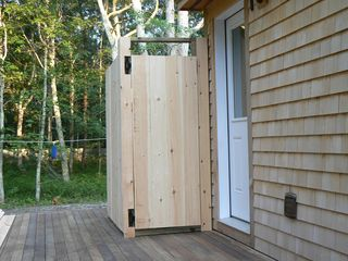 Vineyard Haven house photo - Outdoor shower