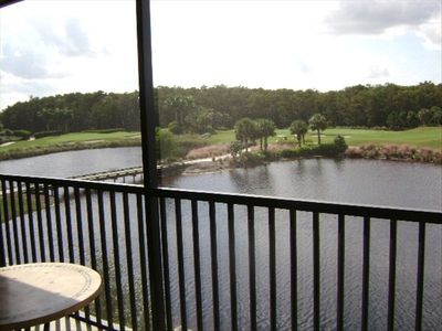 Beautiful view of lake and golf course from the 3rd floor lanai.