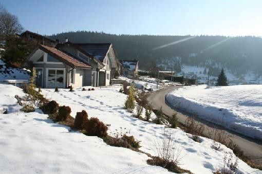 Wonderful wooden chalet in Gerardmer at the foot of the slopes, view of the lake