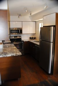 Old Town Scottsdale condo rental - kitchen