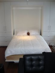 Vancouver apartment photo - Murphy Bed with Queen Sized Bed