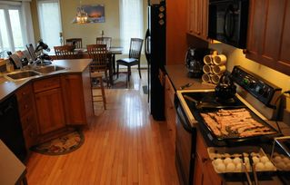 Swanton house photo - Cook in and save $$, Bacon and eggs anyone?
