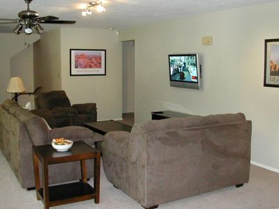 Upstairs TV area