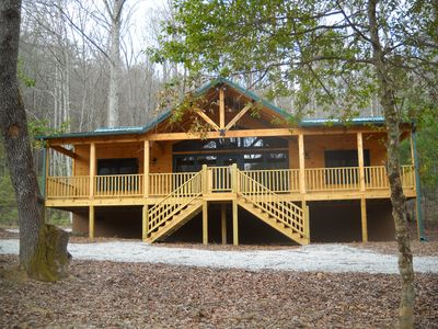 Welcome to the Old Rocky Branch Road Rental.  Cabin sleeps 6 people.