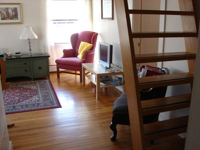 ladder to loft bedrooms