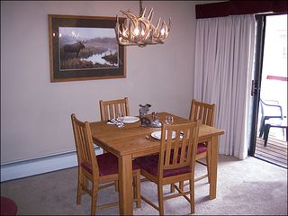 Breckenridge condo photo - Quaint Dining Area
