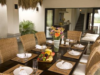 Tamarindo villa photo - Outdoor Dinning