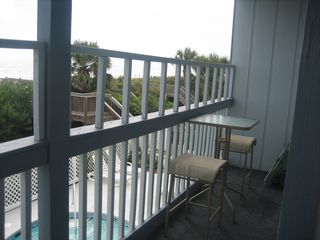 Surfside Beach condo photo - Balcony off master bedroom