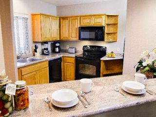 Sedona condo photo - Full Kitchen in One Bedroom Unit at the Ridge on Sedona Golf Resort