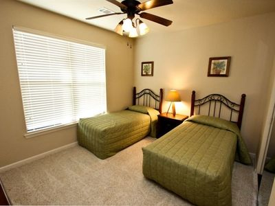 Twin Bedroom with Shared Bath