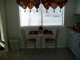 Kingston Plantation villa photo - Bistro Table for Two