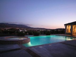 San Diego estate photo - Beautiful evenings with distant city light views.
