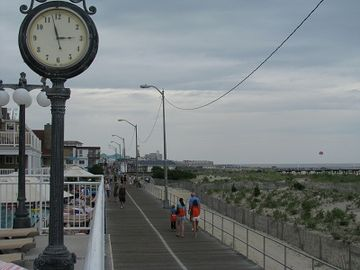 A small view of the 2 1/2 mile boardwalk.