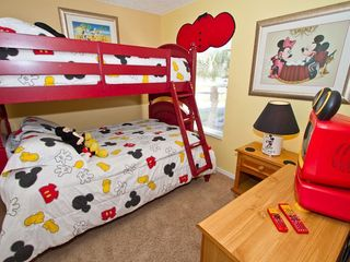 Disney bedroom - Emerald Island villa vacation rental photo