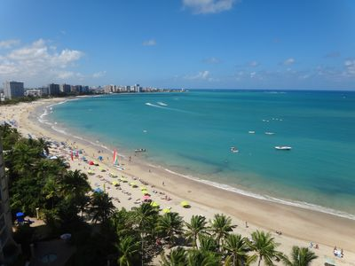Amazing view of Isla Verde East from Balcony