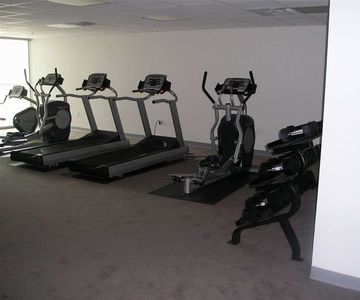 Fitness Room - overlooking Gulf
