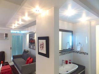 Isla Verde apartment photo - Look at the modern ceiling fascias. All lights are controlled by dimmer.