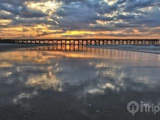 Isle of Palms condo photo - Sunrise at low tide