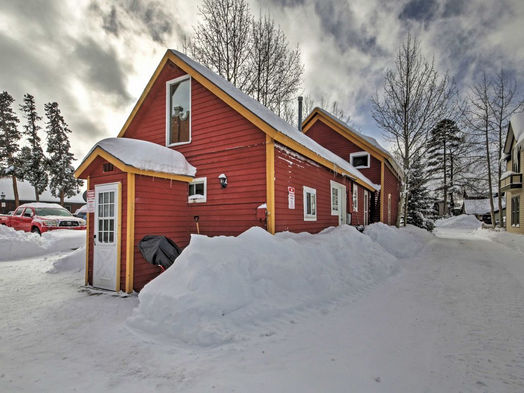 New Cozy Breckenridge Studio Cabin Homeaway Historic