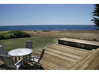 Sea Ranch house photo - A view from the back yard deck.