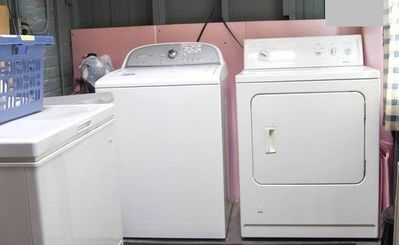 Our Washer and Dryer