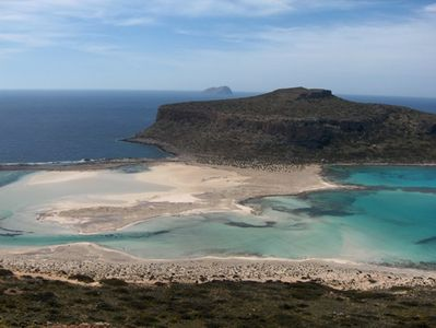 Balos lagoon just 30 minutes from the villa.