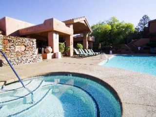 Sedona condo photo - Pool and Jacuzzi at the Sedona Summit Resort