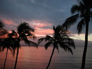 Maalaea condo photo - How's that for a SUNRISE! Haleakala view from our lanai!