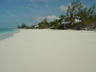 Great Exuma villa photo - Bougainvillea House - a quiet day at the beach