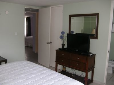 Master Bedroom - Flat screen TV...& DVD player