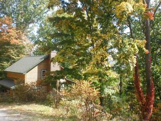 Boone cabin photo - Spectacular scenery with the changing of the leaves in the Fall.