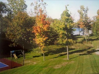 Mature trees everywhere! Awesome, outdoor space! 7 1/2 private acres.