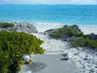 Great Exuma house photo - Steps to the beach