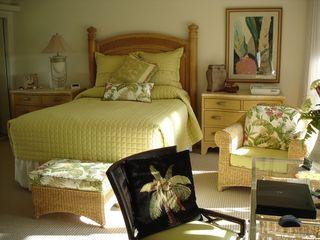Kaanapali condo photo - Spacious MBR with Plenty of Closet and Storage Space; Computer Desk