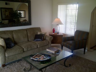 Palm Springs condo rental - Seating Area