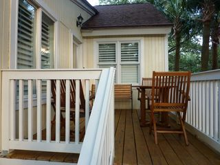 Seabrook Island cottage photo - Back Deck