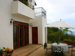 Lower bedroom opens up to patio. - Puerto Vallarta house vacation rental photo