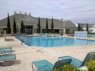 Venetian Bay townhome photo - Main pool, whirlpool tub, 6000 sq ft clubhouse w/amenities