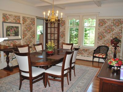 Formal dining room....not that anyone needs it.