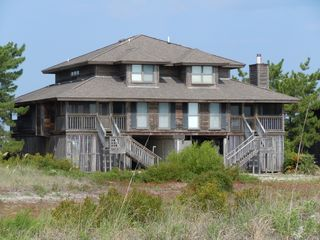 Harbor Island house photo - View of home from the beach