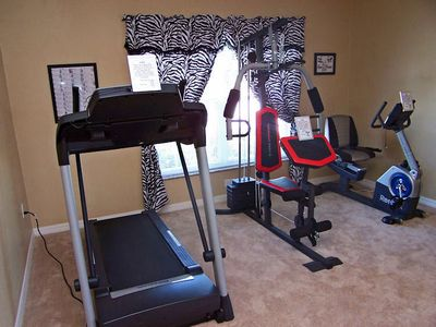 Highgate Park villa rental - Private In Villa Gym